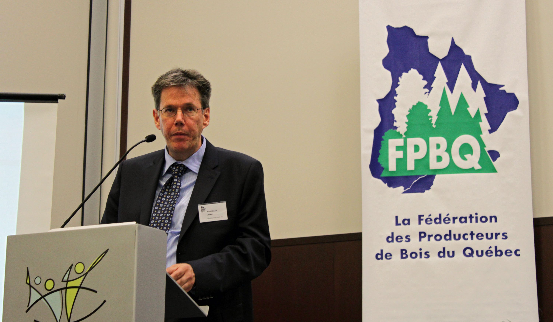 Conférencier Ronald Brizard, MRNF