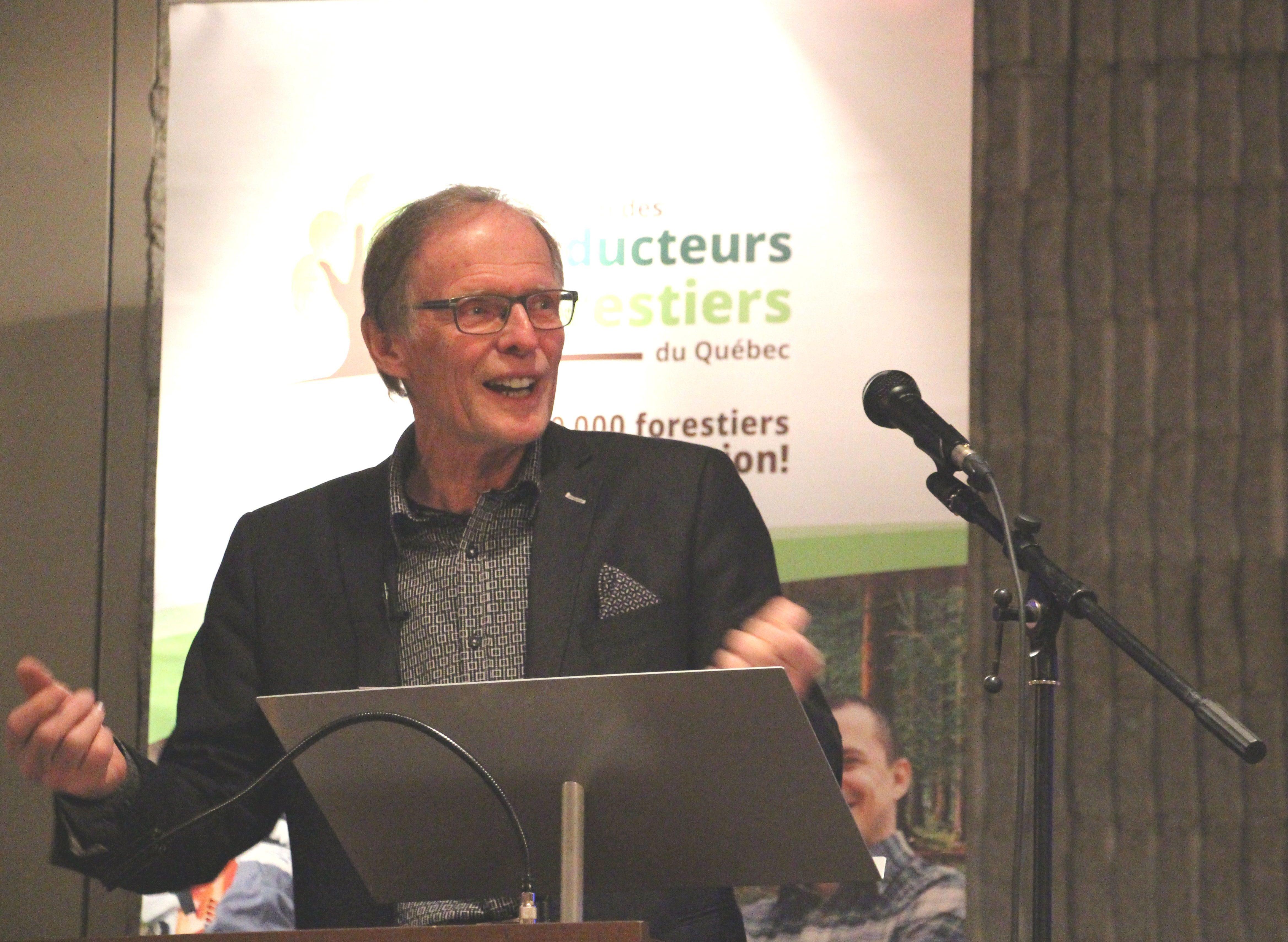 AGA: discours du président de la FPFQ, Pierre-Maurice Gagnon