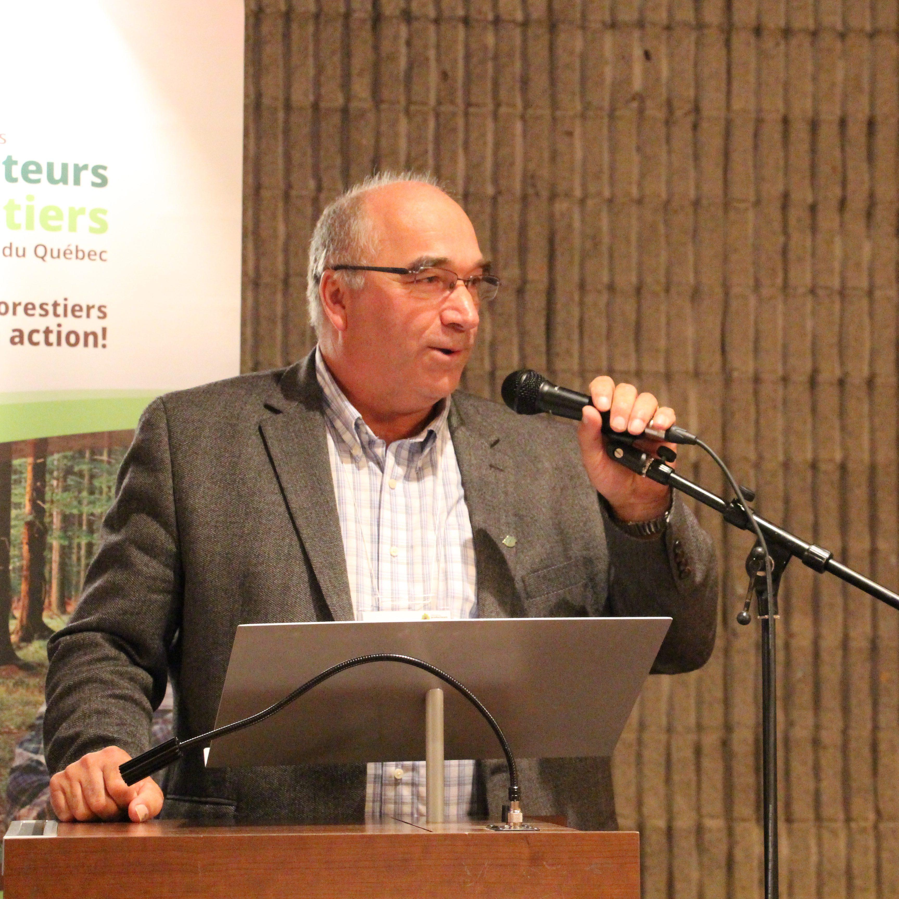 AGA: discours du 1er vice-président de l'UPA, Pierre Lemieux