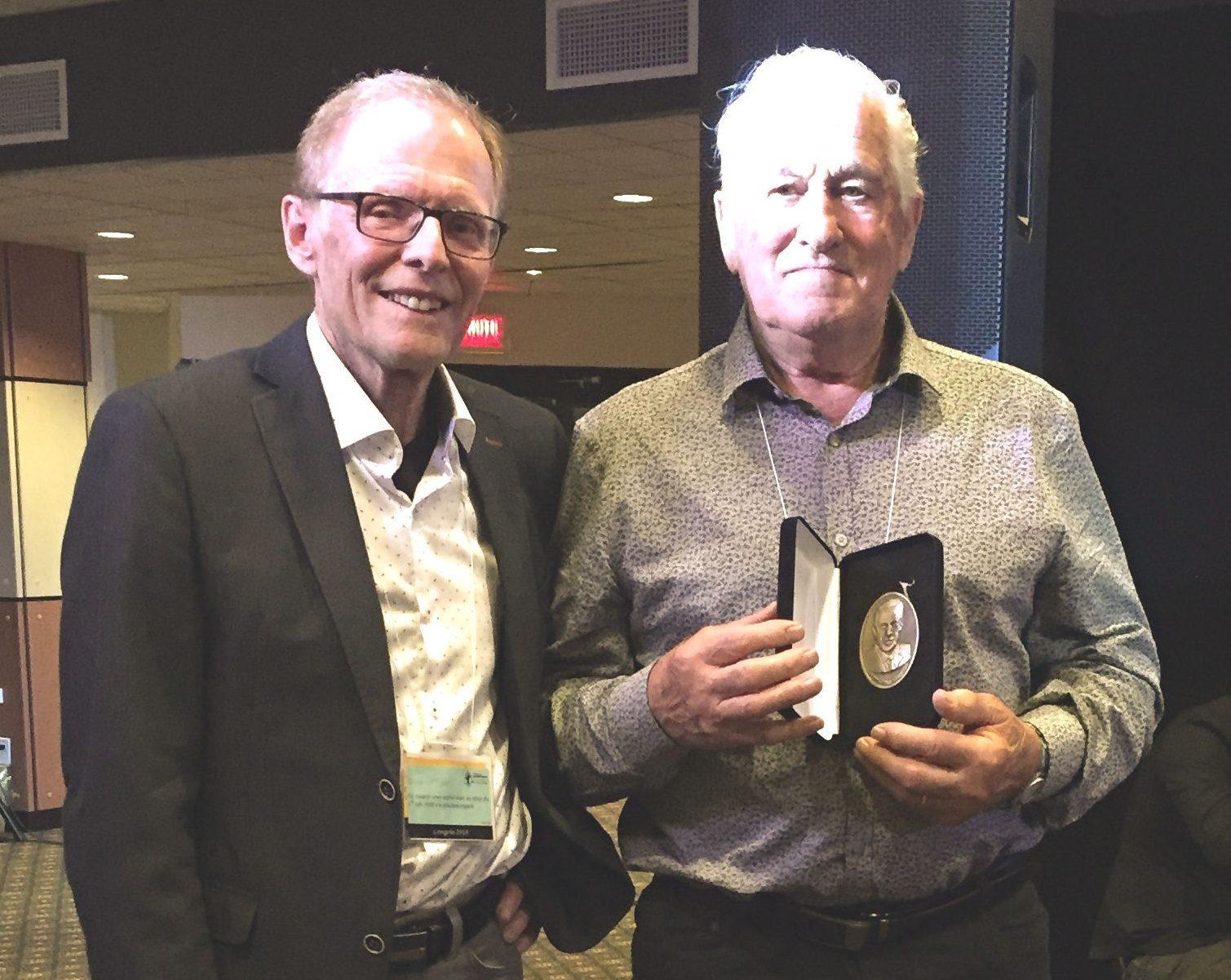 Pierre-Maurice Gagnon et Marius-Blais, prix Henri-Paul Gagnon 2018 :