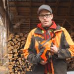 François Bourdoncle est formateur en abattage depuis près de 20 ans pour l'Association des propriétaires de boisés de la Beauce.