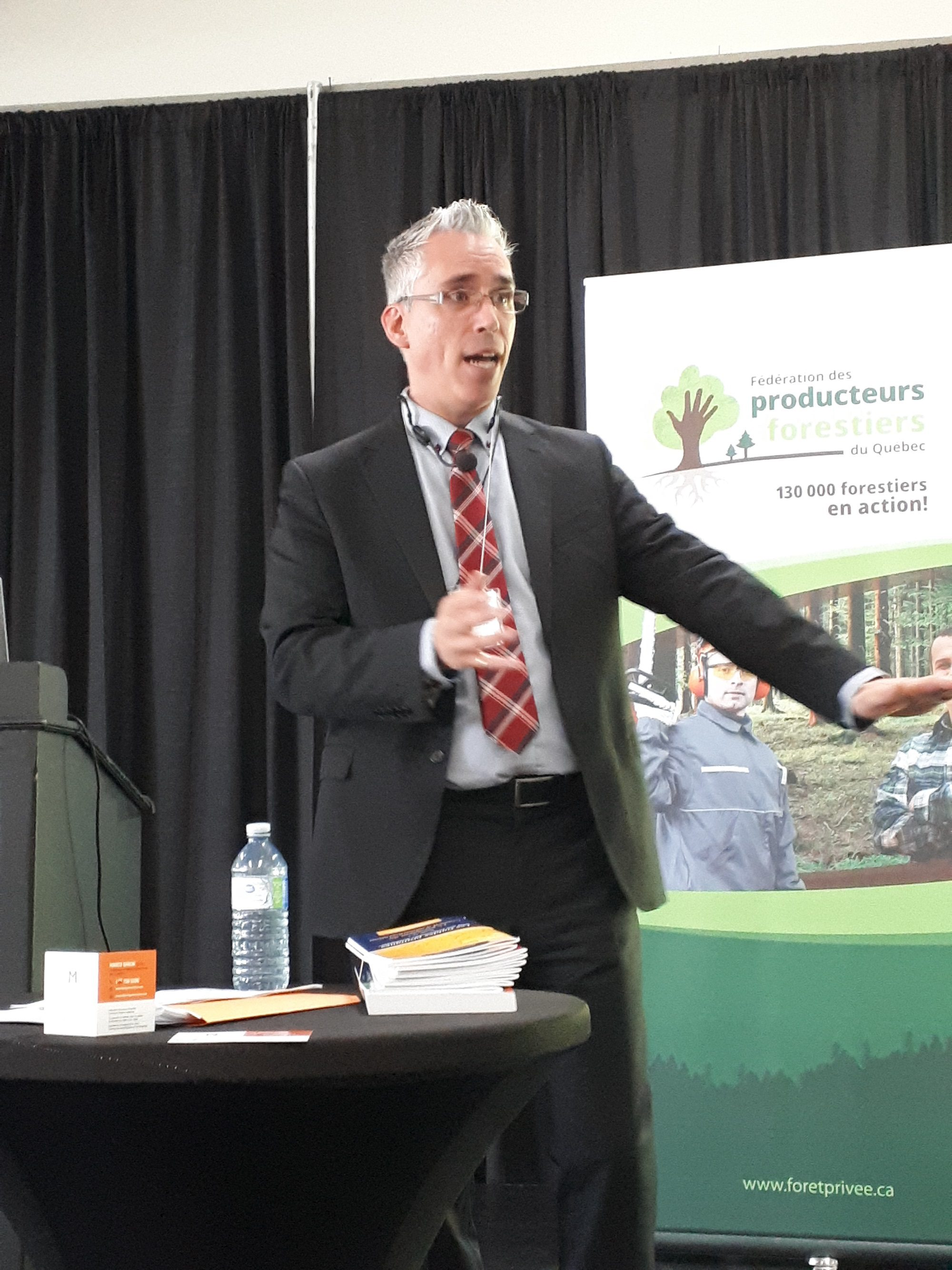 Marco Baron, formateur et consultant en gouvernance stratégique.