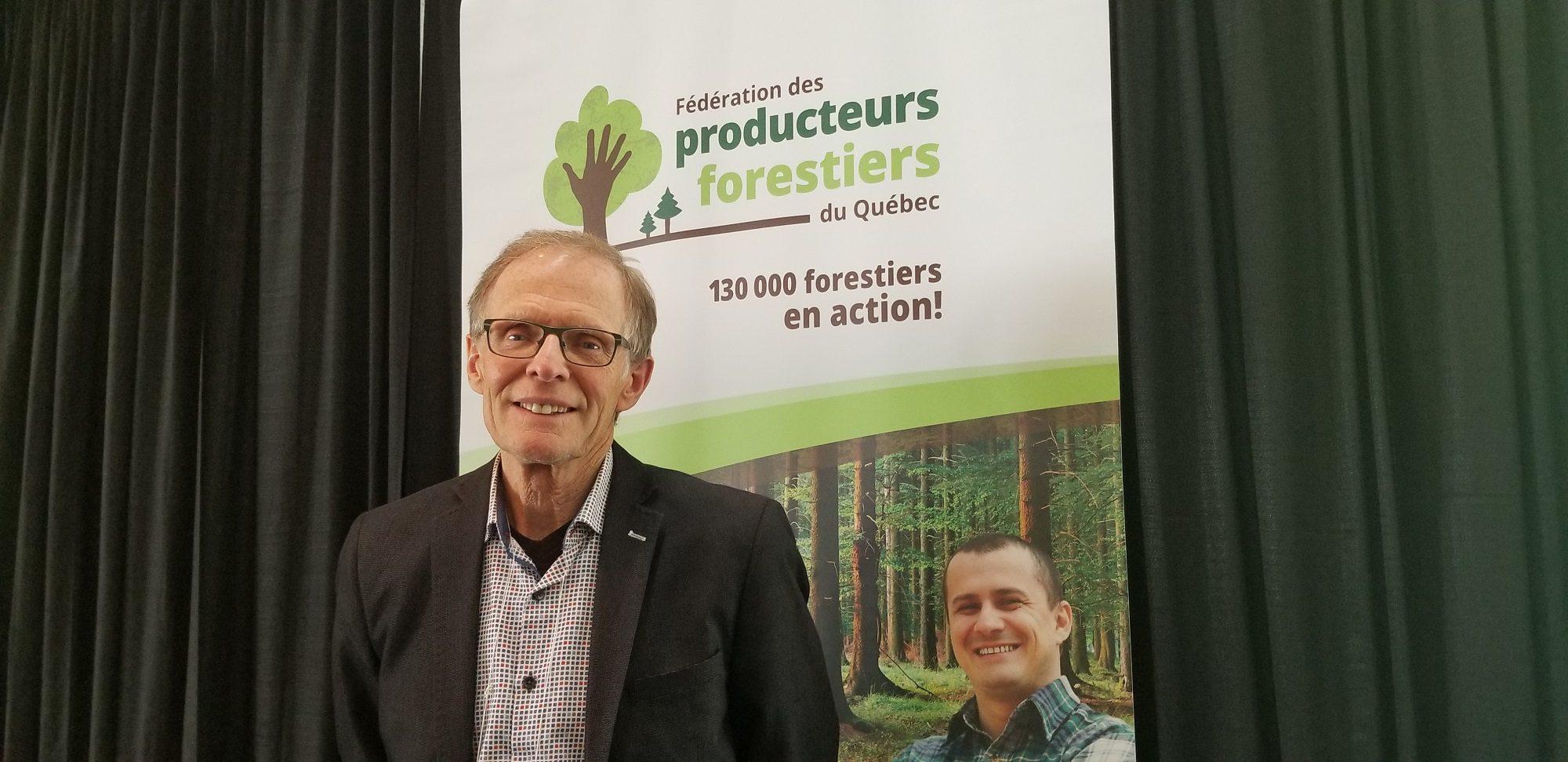 Le président de la FPFQ, Pierre-Maurice Gagnon, était heureux de recevoir les participants à ce congrès 2019.